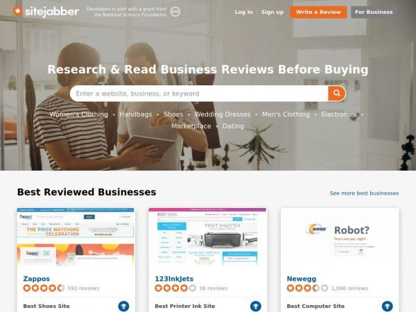 Consumer Reviews of Online Businesses - SiteJabber