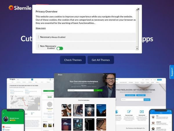 WordPress Premium Themes and Apps - SiteMile.com