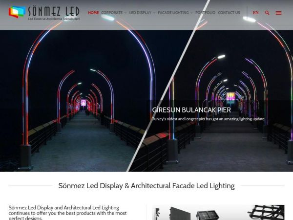 Sönmez Led Display & Architectural Facade Lighting I Sönmez LED