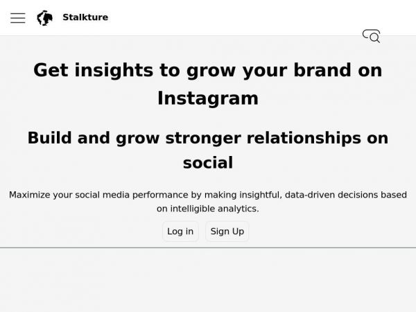 Stalkture | Online Instagram content Browser