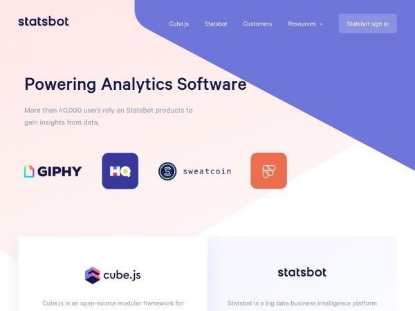 Statsbot: Powering Analytics Software