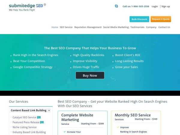 Best SEO Company | Link Building | SEO Services | SubmitEdge
