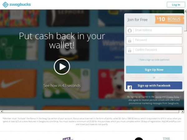 Swagbucks - Free Gift Cards for Paid Surveys and More