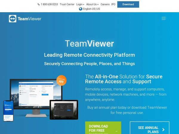 teamviewer.com - TeamViewer – Remote Support, Remote Access, Online Collaboration and Meetings