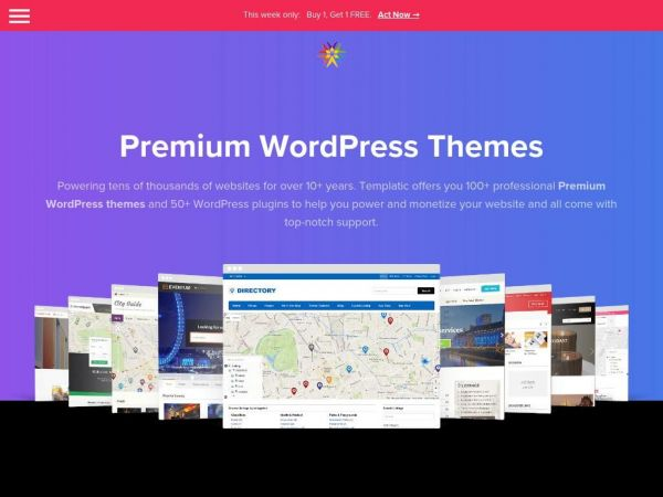 100+ Premium WordPress Themes - 2019's Best WordPress Templates