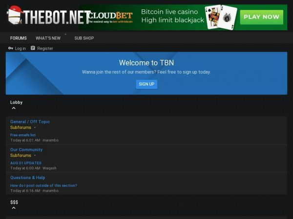 thebot.net - Just a moment...