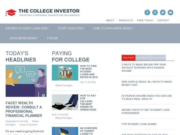 The College Investor | Millennial Personal Finance and Investing Blog