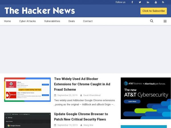 The Hacker News — Latest Cyber Security News