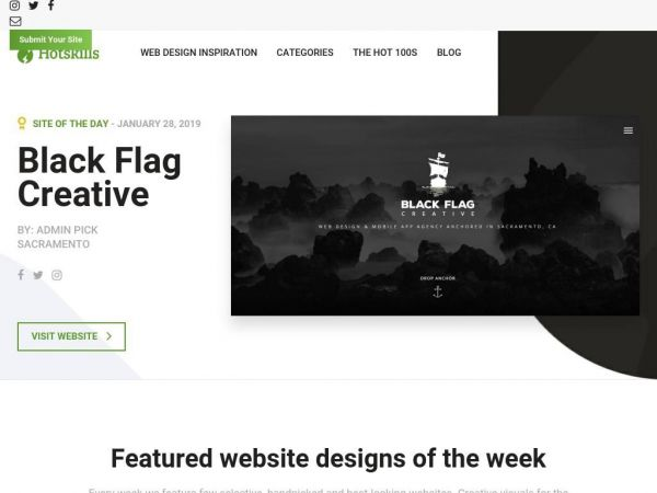 Web Design Inspiration Gallery | Best Website Designs