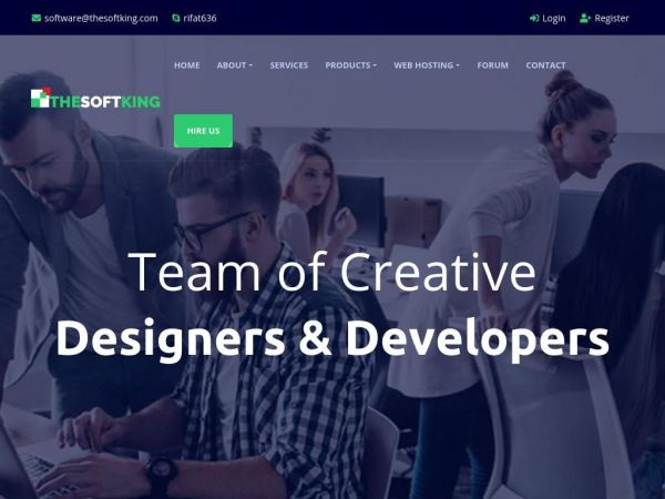 thesoftking.com - THESOFTKING | Web Development | Web Design | Apps & Software
