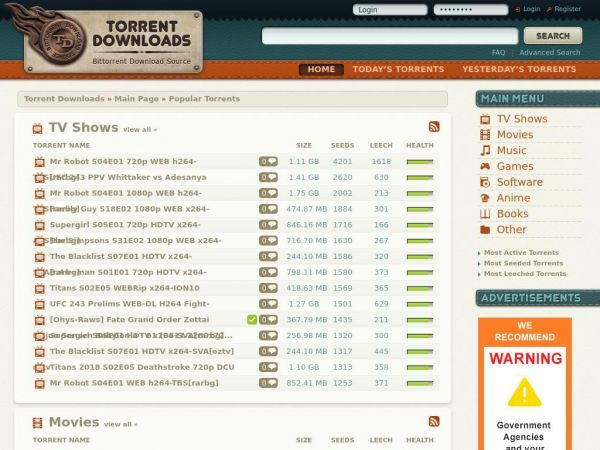 torrentdownloads.me Torrent Downloads - download free torrents!