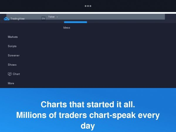 tradingview.com - Free Stock Charts, Stock Quotes and Trade Ideas — TradingView