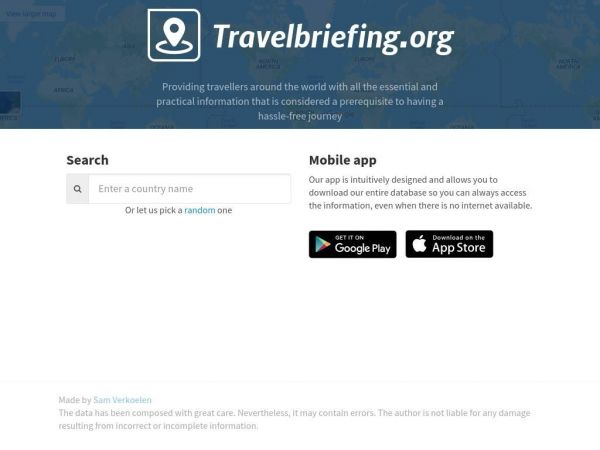 Travelbriefing.org - Practical travel information by country
