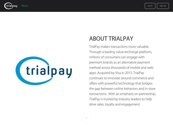 About - TrialPay