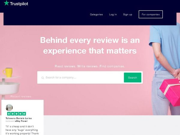 Trustpilot - Experience the power of customer reviews