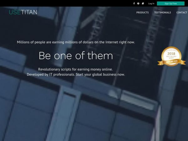 TITAN | Revolutionary scripts for earning money online.