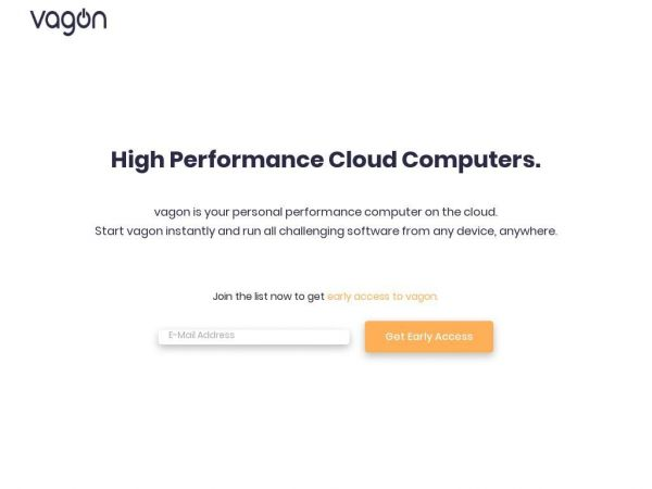 vagon | Personal high performance cloud workstations