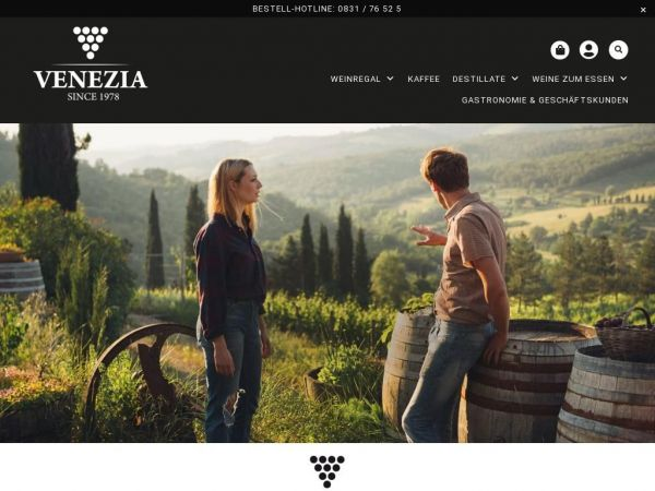 🍷 Venezia Wines and more Ihr Online Weinexperte!