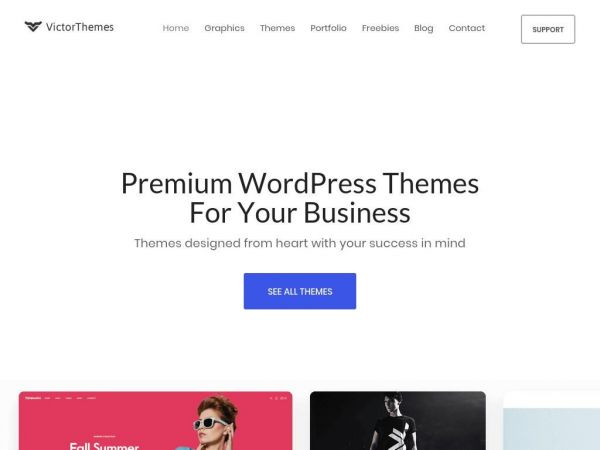 VictorThemes- Premium & Custom WordPress Theme Design Company