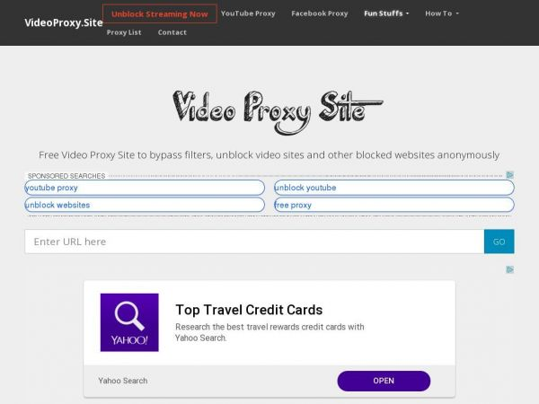 Video Proxy Site | Free Web Proxy to Unblock Video Sites