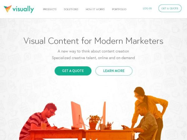 visual.ly - Visually | Premium content Creation for Better Marketing