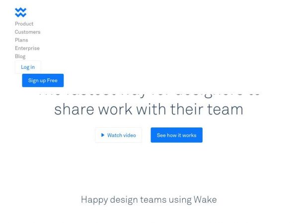 Wake: Design Collaboration & Feedback for Teams