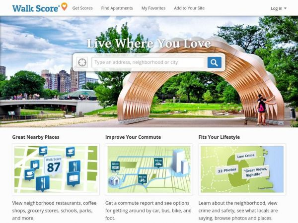 Find Apartments for Rent and Rentals - Get Your Walk Score
