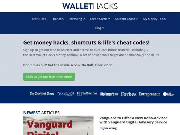 Wallet Hacks - Strategies & tactics for getting ahead financially and in life