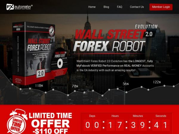 WALLSTREET FOREX ROBOT 2.0 EVOLUTION - THE OFFICIAL WEBSITE