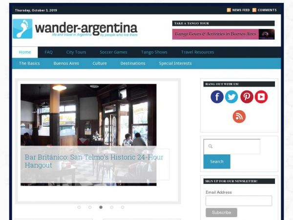Wander Argentina | Travel & Tours in Buenos Aires & Beyond