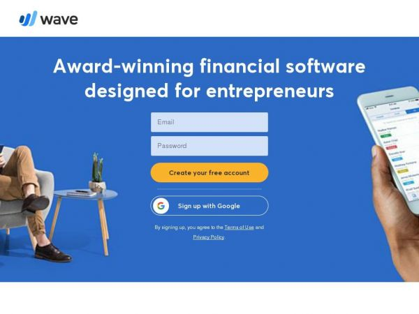 waveapps.com - Wave Financial: Financial Software for Small Businesses