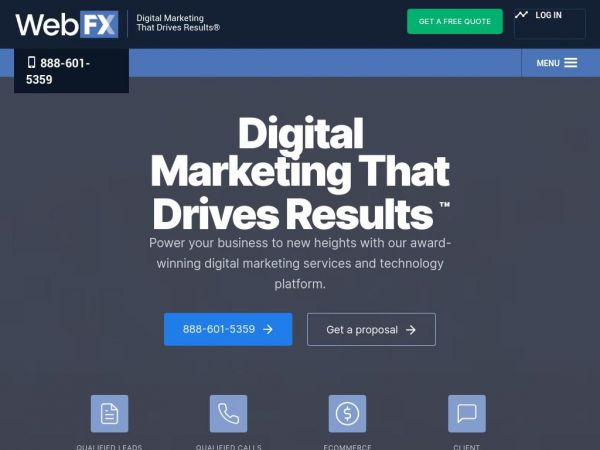 webfx.com - SEO Company | Results Driven Digital Marketing by WebFX