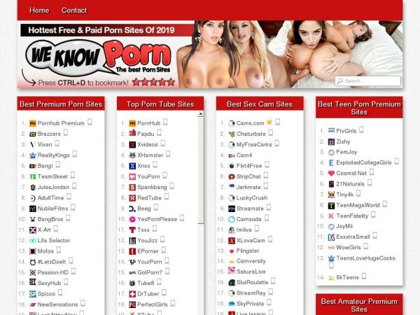 Best Porn Sites - Top Ranked Porn Websites List With Examples