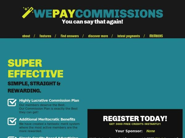 WePayCommissions