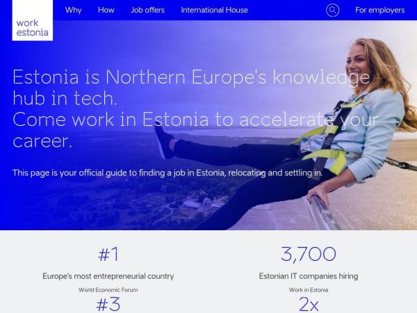 Why Estonia? - Work in Estonia