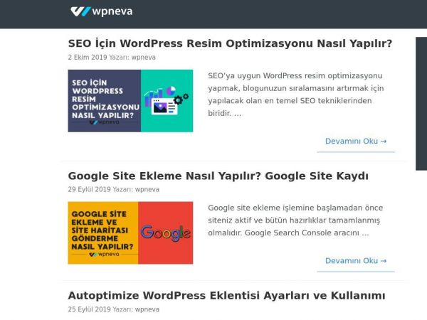 WpNeva - WordPress Blog