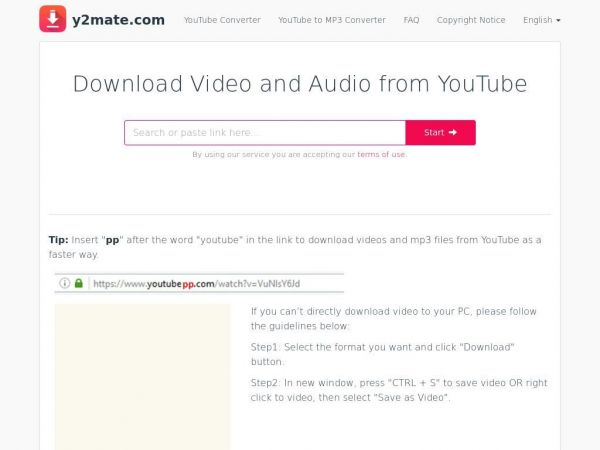Download Video and Audio from YouTube
