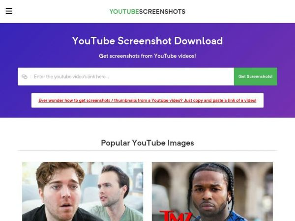 YouTube Screenshots - Get Screenshots from YouTube Videos
