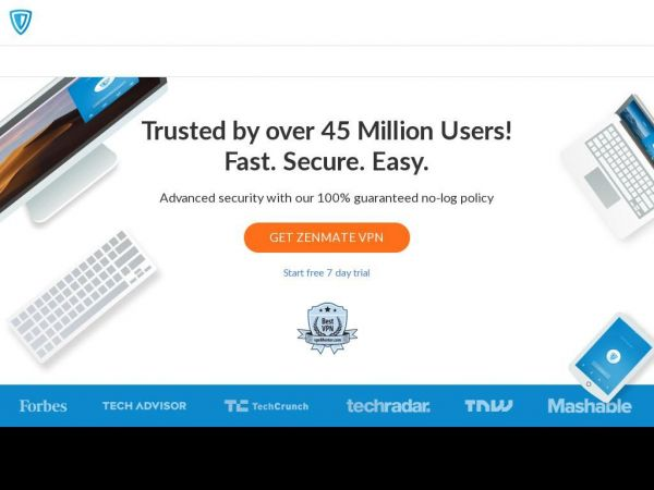 ZenMate - Internet Security and Privacy at its best