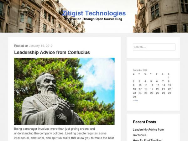 Zitigist Technologies - Innovation Through Open Source Blog